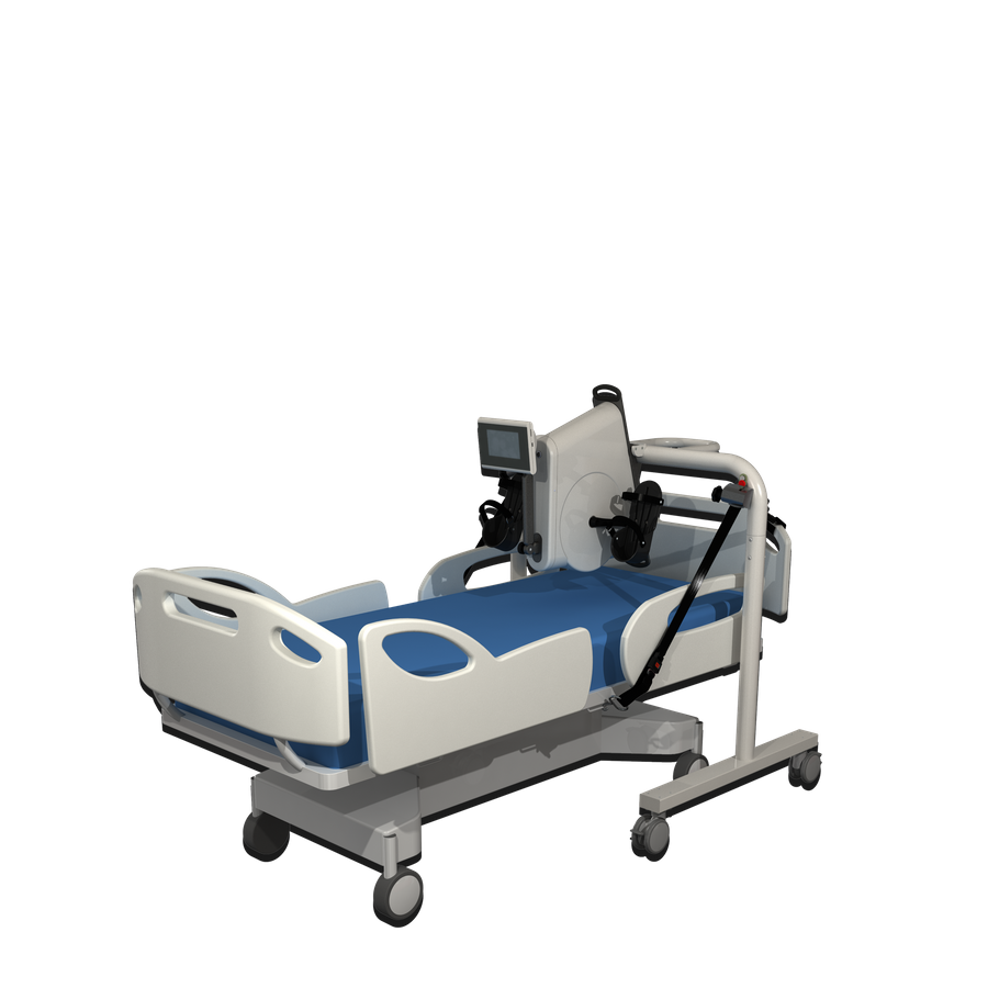 Angio rehab with bed carrier